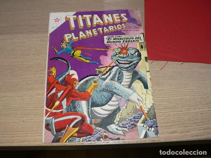 TITANES PLANETARIOS 94 (Tebeos y Comics - Novaro - Otros)
