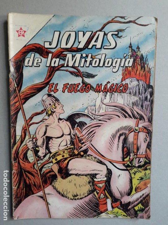 JOYAS DE LA MITOLOGÍA N° 9 - EL FUEGO MÁGICO - ORIGINAL EDITORIAL NOVARO (Tebeos y Comics - Novaro - Otros)