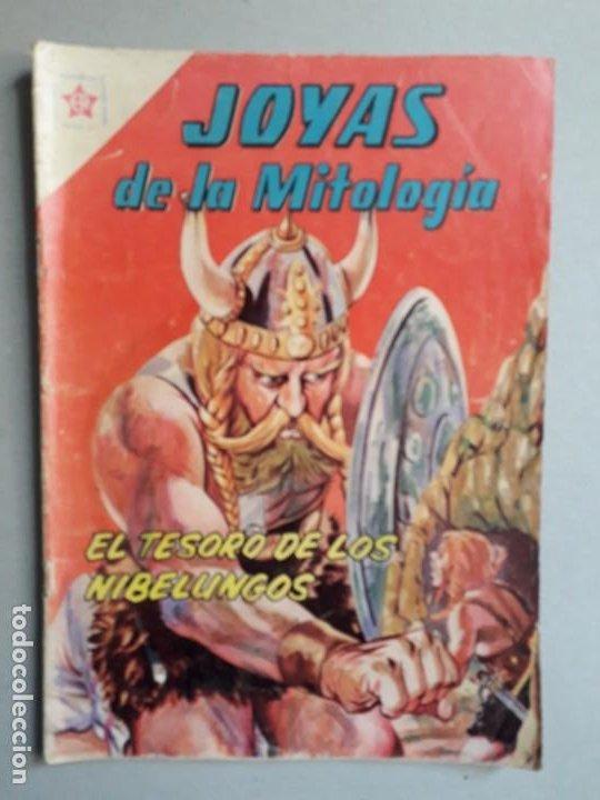 JOYAS DE LA MITOLOGÍA N° 7 - EL TESORO DE LOS NIBELUNGOS - ORIGINAL EDITORIAL NOVARO (Tebeos y Comics - Novaro - Otros)