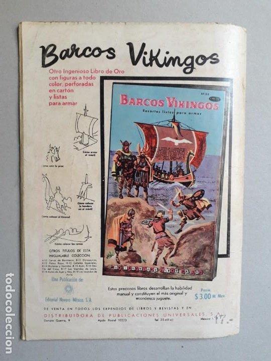 Tebeos: Joyas de la mitología n° 7 - El tesoro de los nibelungos - original editorial Novaro - Foto 4 - 192076250