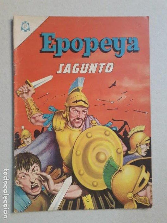 EPOPEYA N° 85 - SAGUNTO - ORIGINAL EDITORIAL NOVARO (Tebeos y Comics - Novaro - Epopeya)