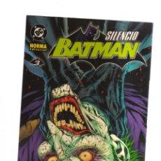 Giornalini: BATMAN SILENCIO N,3. Lote 192145378