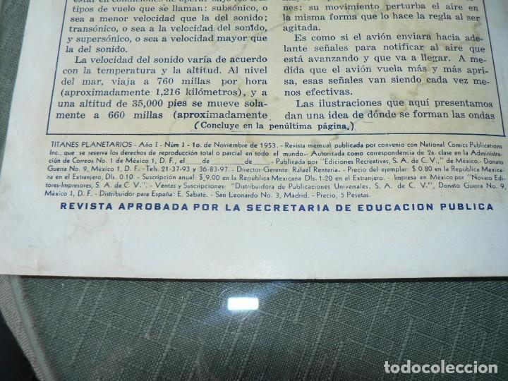 Tebeos: TITANES PLANETARIOS NUMERO 1 JAMAS VENDIDO - Foto 3 - 192159158