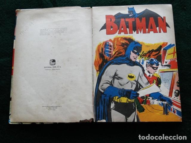 Tebeos: BATMAN PUBLICACIÓN FHER tebeo comic - Foto 4 - 192201953