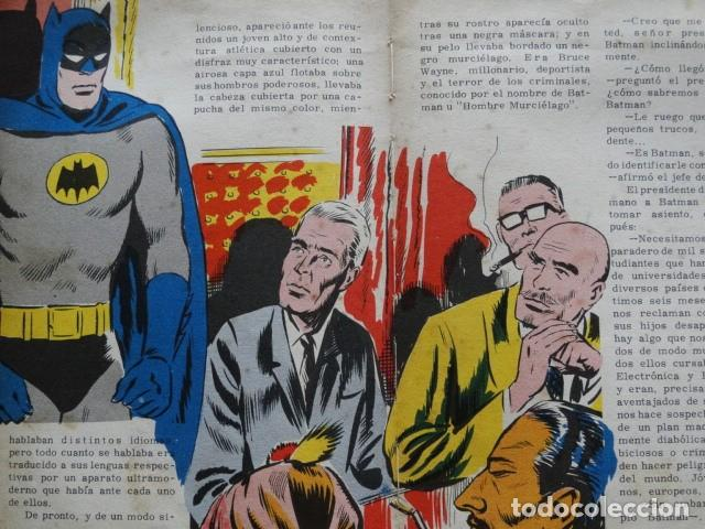Tebeos: BATMAN PUBLICACIÓN FHER tebeo comic - Foto 7 - 192201953