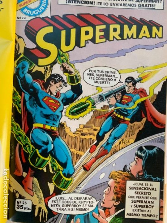 8 NÚMEROS DE SUPERMAN, (Tebeos y Comics - Novaro - Superman)