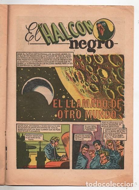 Tebeos: 1967 EL HALCON NEGRO # 275 EL LLAMADO DEL OTRO MUNDO NOVARO LA PRENSA BUEN ESTADO - Foto 2 - 192493032