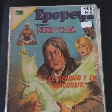 Tebeos: NOVARO EPOPEYA NUMERO 183 NORMAL ESTADO. Lote 192629183
