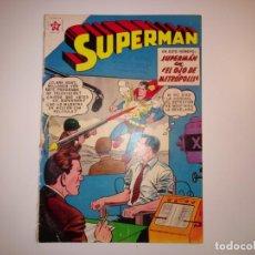 Tebeos: SUPERMAN NOVARO. NÚMERO 239. AÑO 1960. MUY BUEN ESTADO. PROCEDE DE ENCUADERNACIÓN.. Lote 192670420