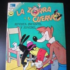 Tebeos: ZORRA Y EL CUERVO, LA (1952, ER / NOVARO) 297 · 1952 · LA ZORRA Y EL CUERVO. Lote 192768477