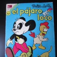 Tebeos: PAJARO LOCO, EL (1950, SEA / NOVARO) 397 · 1-VIII-1950 · EL PÁJARO LOCO. Lote 192768886