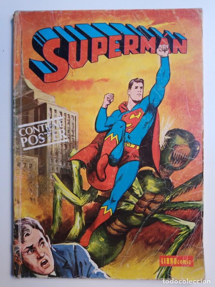 SUPERMAN LIBROCOMIC TOMO XLIX 49 EDITORIAL NOVARO 1979 (Tebeos y Comics - Novaro - Superman)