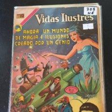 Tebeos: NOVARO VIDAS ILUSTRES NUMERO 305 NORMAL ESTADO. Lote 192852757