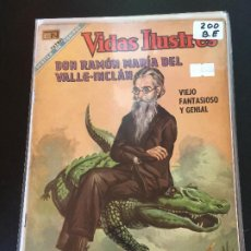 Livros de Banda Desenhada: NOVARO VIDAS ILUSTRES NUMERO 200 BUEN ESTADO. Lote 192853096