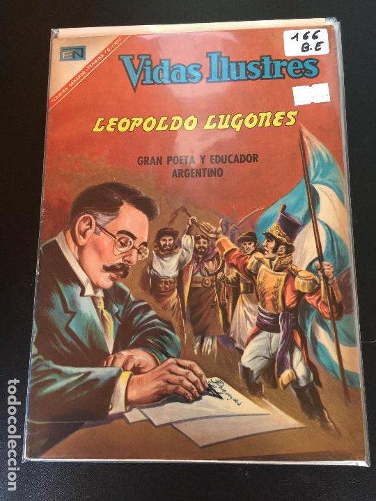 NOVARO VIDAS ILUSTRES NUMERO 166 BUEN ESTADO (Tebeos y Comics - Novaro - Vidas ilustres)