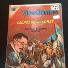 Livros de Banda Desenhada: NOVARO VIDAS ILUSTRES NUMERO 166 BUEN ESTADO. Lote 192853302