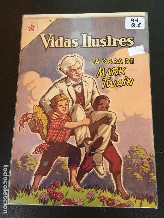 NOVARO VIDAS ILUSTRES NUMERO 91 BUEN ESTADO (Tebeos y Comics - Novaro - Vidas ilustres)