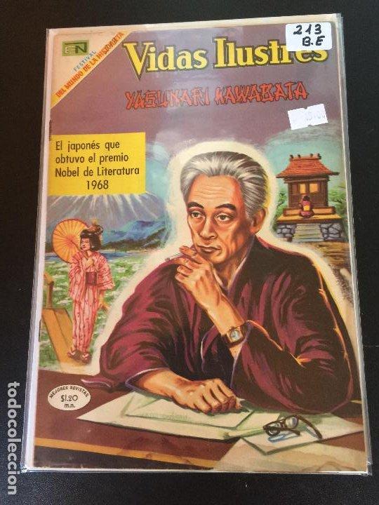 NOVARO VIDAS ILUSTRES NUMERO 213 BUEN ESTADO (Tebeos y Comics - Novaro - Vidas ilustres)
