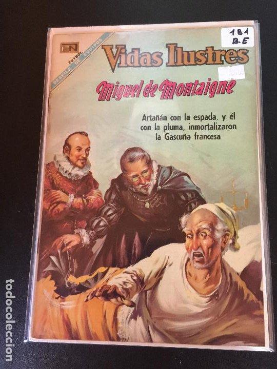 NOVARO VIDAS ILUSTRES NUMERO 181 BUEN ESTADO (Tebeos y Comics - Novaro - Vidas ilustres)