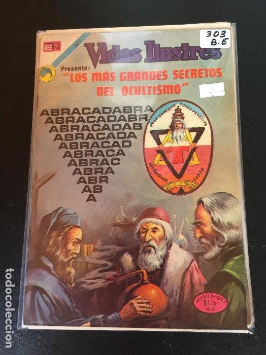 NOVARO VIDAS ILUSTRES NUMERO 303 BUEN ESTADO (Tebeos y Comics - Novaro - Vidas ilustres)