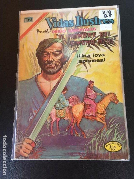 NOVARO VIDAS ILUSTRES NUMERO 318 BUEN ESTADO (Tebeos y Comics - Novaro - Vidas ilustres)