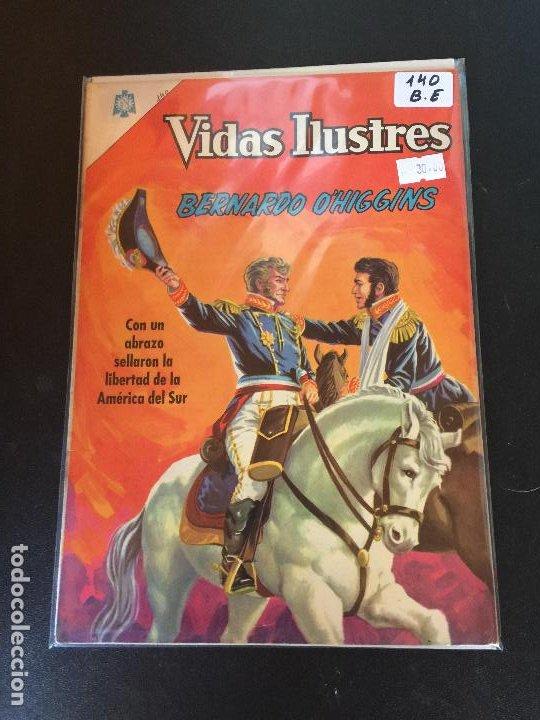 NOVARO VIDAS ILUSTRES NUMERO 140 BUEN ESTADO (Tebeos y Comics - Novaro - Vidas ilustres)