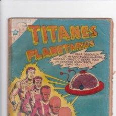Tebeos: TITANES PLANETARIOS NÚMERO 18. NOVARO. Lote 192876763