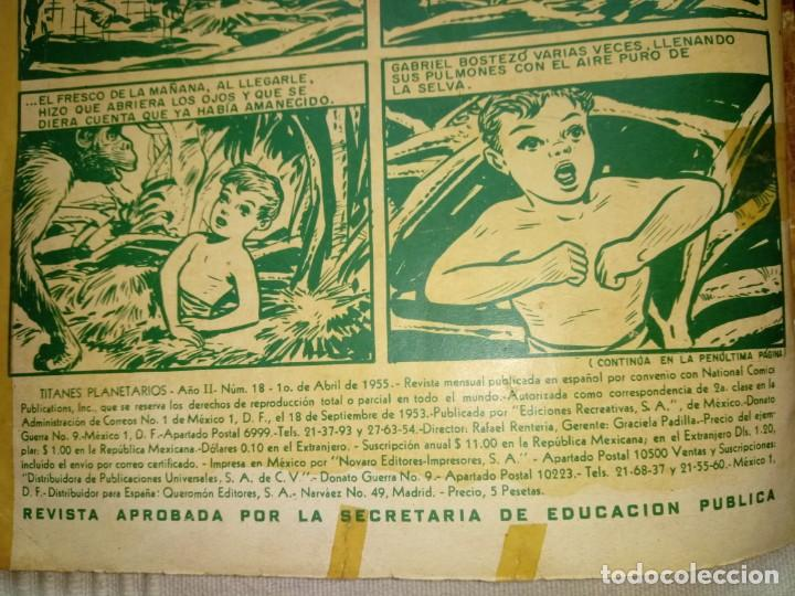 Tebeos: TITANES PLANETARIOS NÚMERO 18. NOVARO - Foto 3 - 192876763