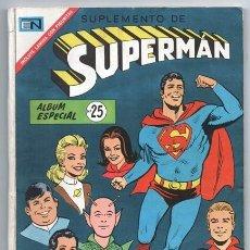Tebeos: 1970 SUPERMAN ALBUM # 25 BATMAN SUPERMAN 763, 767, 769 Y 770, BATMAN #S 518 Y 520 MUY BUEN ESTADO. Lote 208893972