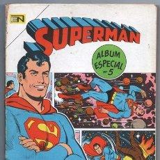 Tebeos: 1967 SUPERMAN ALBUM # 5 LEGION DE SUPER-HEROES SUPERNIÑA BATMAN KRYPTO 192 PAG EXCELENTE. Lote 193289737