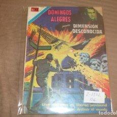 Tebeos: SERIE AGUILA DOMINGOS ALEGRES DIMESION DESCONOCIDA 2-1372 ROTURA EN LA PORTADA. Lote 193360533