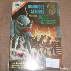Tebeos: SERIE AGUILA DOMINGOS ALEGRES BORIS KARLOFF2-1231. Lote 193366103