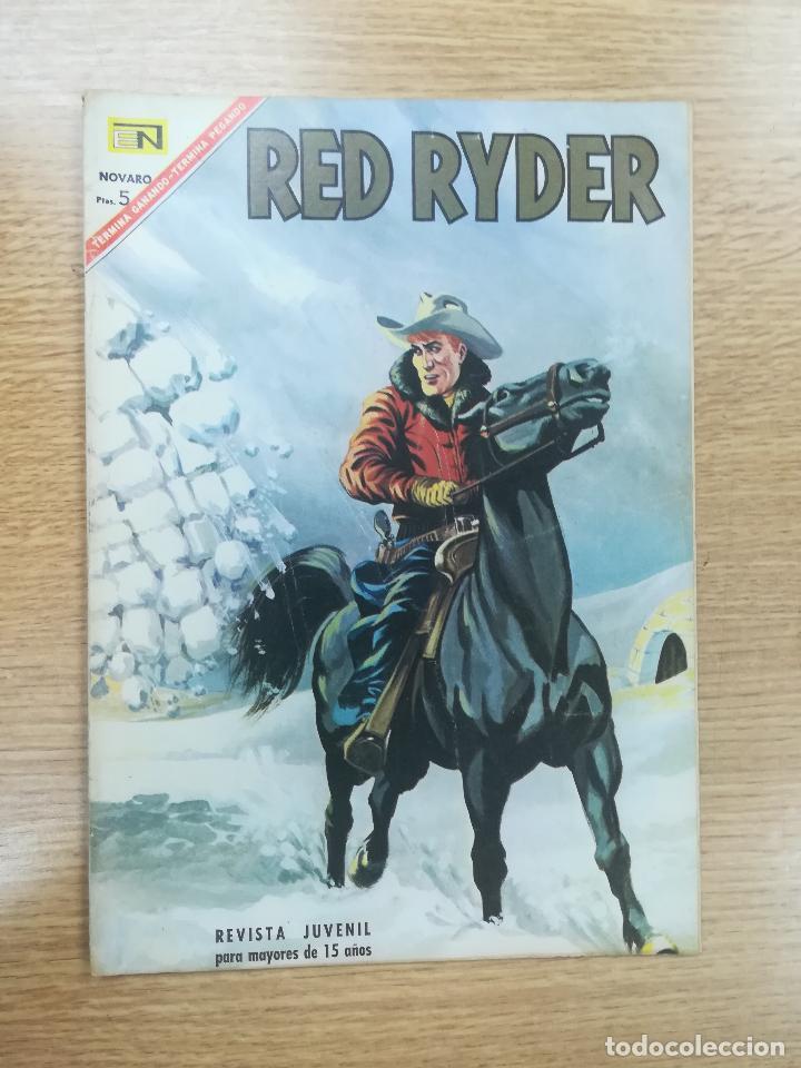 RED RYDER #156 (Tebeos y Comics - Novaro - Red Ryder)