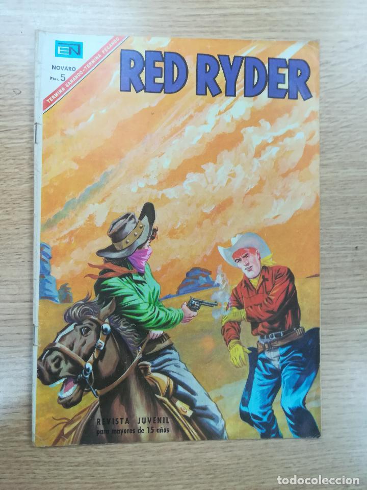 RED RYDER #155 (Tebeos y Comics - Novaro - Red Ryder)