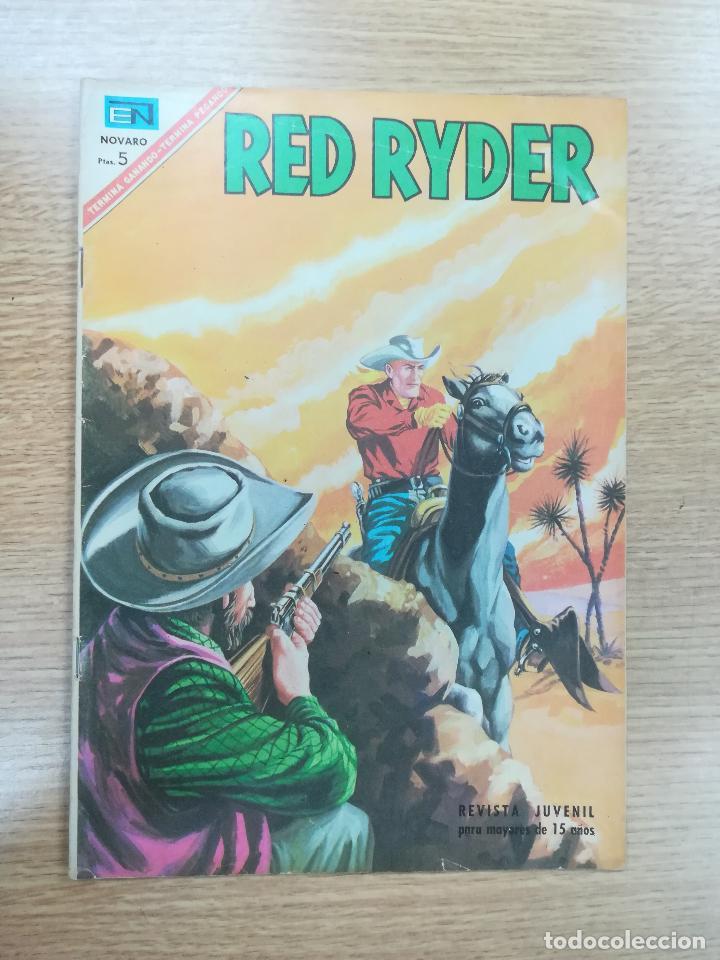 RED RYDER #158 (Tebeos y Comics - Novaro - Red Ryder)