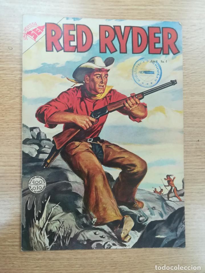 RED RYDER #4 (Tebeos y Comics - Novaro - Red Ryder)