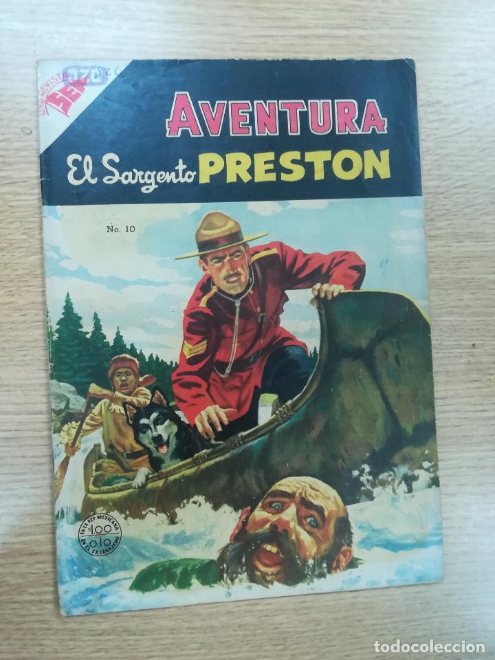AVENTURA PRESENTA EL SARGENTO PRESTON #10 (Tebeos y Comics - Novaro - Aventura)