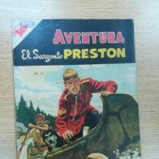 Tebeos: AVENTURA PRESENTA EL SARGENTO PRESTON #10. Lote 193850505