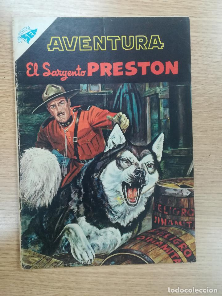 AVENTURA PRESENTA EL SARGENTO PRESTON #48 (Tebeos y Comics - Novaro - Aventura)