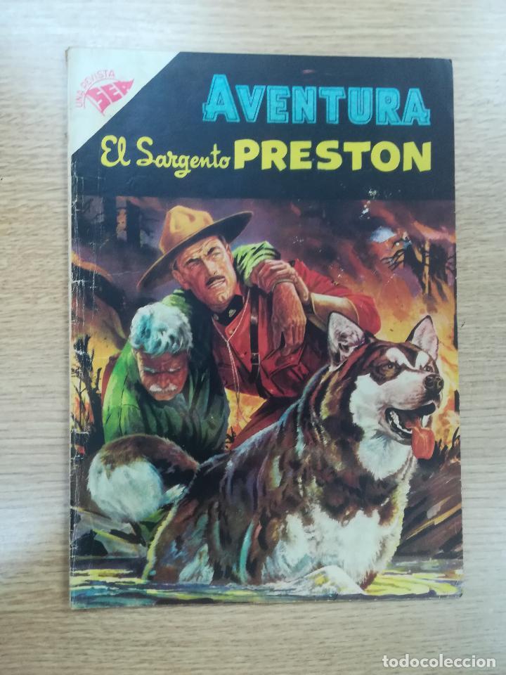 AVENTURA PRESENTA EL SARGENTO PRESTON #43 (Tebeos y Comics - Novaro - Aventura)