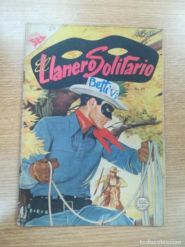EL LLANERO SOLITARIO #20 (Tebeos y Comics - Novaro - El Llanero Solitario)