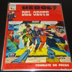 Tebeos: HEROES DEL OESTE 324 LA PRENSA MUY BUEN ESTADO. Lote 193873777