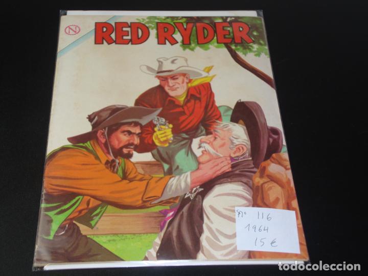 RED RYDER 116 AÑO 1964 MUY BUEN ESTADO (Tebeos y Comics - Novaro - Red Ryder)