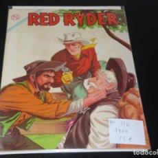 Tebeos: RED RYDER 116 AÑO 1964 MUY BUEN ESTADO. Lote 193880265