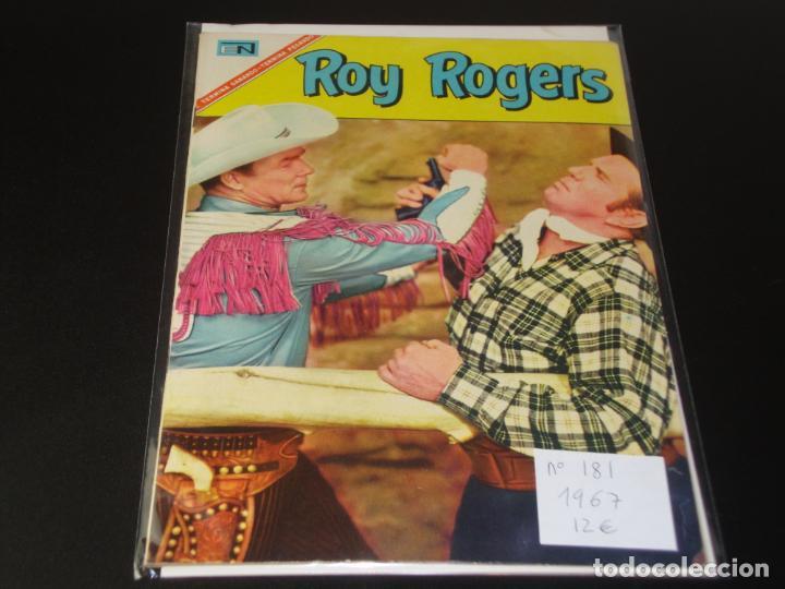 ROY ROGERS 181 MUY BUEN ESTADO (Tebeos y Comics - Novaro - Roy Roger)