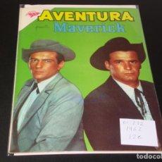 Tebeos: AVENTURA PRESENTA A MAVERICK 232 MUY BUEN ESTADO. Lote 193880498