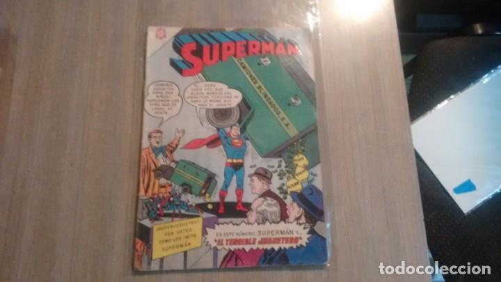 SUPERMAN - NUMERO 555 - (Tebeos y Comics - Novaro - Superman)