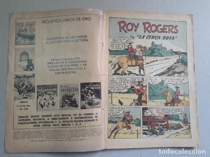 Tebeos: Roy Rogers n° 90 - original editorial Novaro - Foto 2 - 194101401