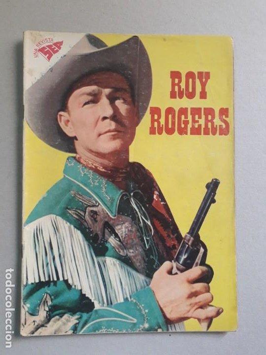 ROY ROGERS N° 79 (FOTO EN PORTADA) - ORIGINAL EDITORIAL NOVARO (Tebeos y Comics - Novaro - Roy Roger)