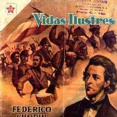 Tebeos: NOVARO (VIDAS ILUSTRES) Nº 18 DE ENCUADERNACION. Lote 194220050